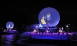 ディズニーテーマパーク初の特殊効果となる球体スクリーンも (C)Disney