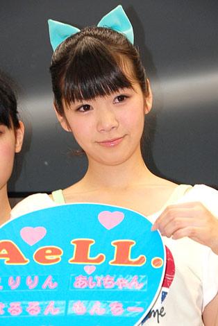 デビューイベントを行った、アイドルユニット・AeLL.の鷹那空実 (C)ORICON DD inc.