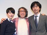 (写真左より)原田知世、大林宣彦監督、高柳良一さん (C)ORICON DD.inc