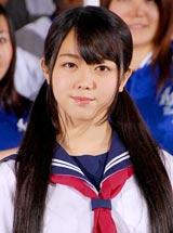 映画『もしも高校野球の女子マネージャーがドラッカーの「マネジメント」を読んだら』の完成披露イベントに出席したAKB48・峯岸みなみ