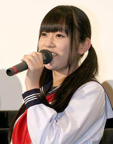 映画『富江 アンリミテッド』の先行上映会で舞台あいさつしたAKB48・多田愛佳 (C)ORICON DD inc.