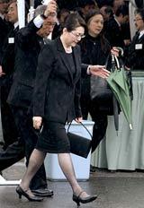 映画界のドン・岡田茂さんの葬儀に参列した松坂慶子