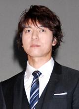 2012年大河ドラマ『平清盛』の男性新キャスト発表会見に出席した上川隆也