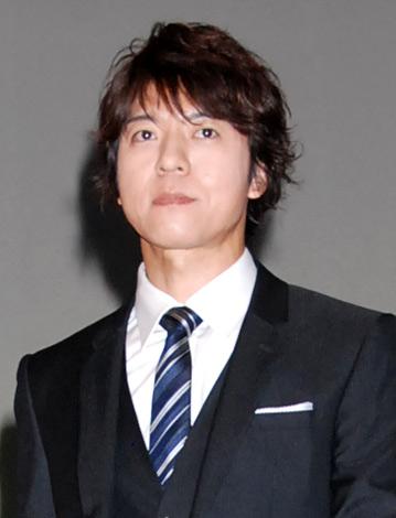 2012年大河ドラマ『平清盛』の男性新キャスト発表会見に出席した上川隆也 (C)ORICON DD inc.