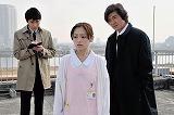 産婦人科勤務の看護師・島村ひとみを演じる劇中でのワンカット