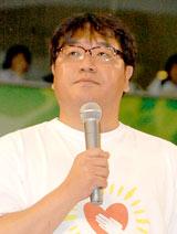 東日本大震災チャリティーイベント『心に太陽を』に参加したカンニング竹山