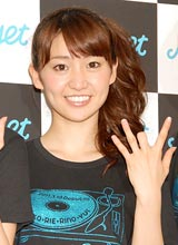 1stシングル「週末Not yet」の発売記念イベントを行ったNot yet・大島優子