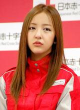 日本赤十字社『誰かのためにプロジェクト』の記者発表会に出席したAKB48・板野友美 (C)ORICON DD inc.