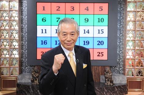 『アタック25』で名司会を務めた児玉清さん (C)ABC