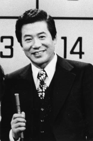パネルクイズ『アタック25』番組開始当時の児玉清さん (C)ABC