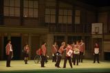 舞台『タンブリング vol.2』初日公演前に行われた公開舞台けいこの模様
