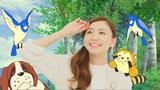『洗えるスーツ ラスカル篇 はるやま』のCMに出演する新垣結衣 (C)NIPPON ANIMATION CO.,LTD
