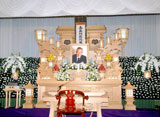 今月16日に胃がんのため死去した児玉清さんの祭壇の様子 (C)ORICON DD inc.