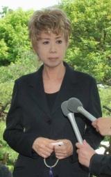 児玉清さん告別式に参列した瀬川瑛子
