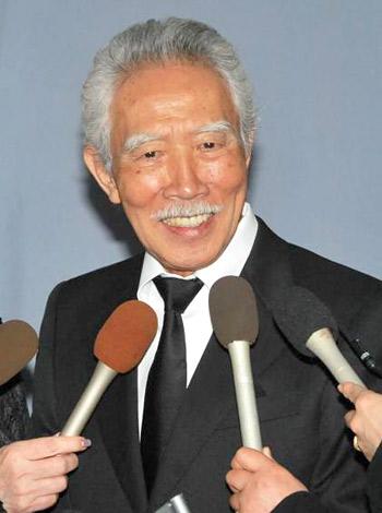 俳優・長門裕之さんの通夜に参列した藤村俊二 (C)ORICON DD inc.
