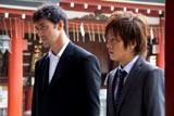 阿部寛の加賀恭一郎がスクリーンに帰ってくる! 東京都内で撮影が始まった映画『麒麟の翼』より (写真提供:東宝)