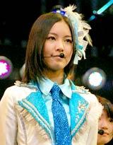 SKE48のライブ公演に参加した松井珠理奈