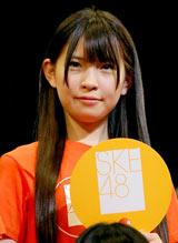 SKE48のライブ公演に参加した松本梨菜