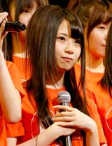 SKE48のライブ公演に参加した高柳明音