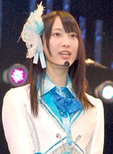 SKE48のライブ公演に参加した松井玲奈