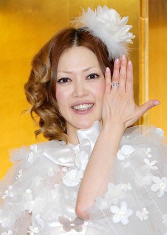 サムネイル オセロ・松嶋尚美(※写真は2008年6月の結婚会見時の様子) (C)ORICON DD inc.