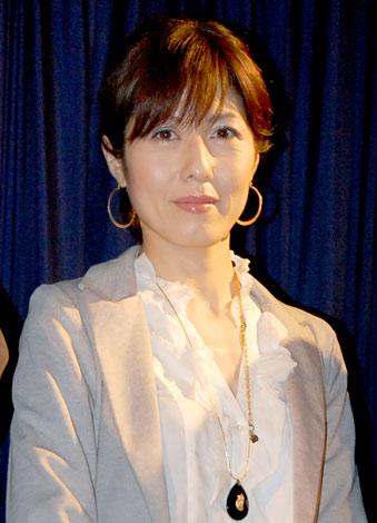 映画『いのちの子ども』のトークイベントに出席した小島慶子 (C)ORICON DD inc.