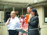 左から大至、白鵬、小田純平