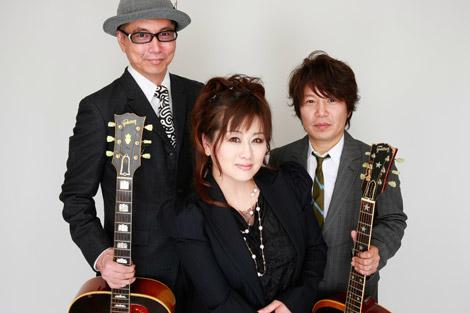三ツ星団(左からDr.kyOn、渡辺美里、佐橋佳幸)
