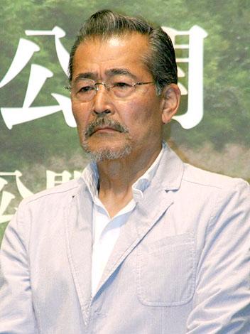 映画『小川の辺(ほとり)』の完成会見に出席した藤竜也 (C)ORICON DD inc.