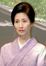 映画『小川の辺(ほとり)』の完成会見に出席した松原智恵子