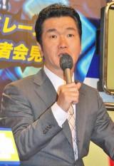 『紳助社長のプロデュース大作戦!』(TBS系)の新プロジェクト発表会見に出席した島田紳助 (C)ORICON DD inc.