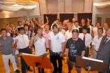 復興支援ソングのレコーディングを行った、メジャー3団体のオールスター選手 (C)ORICON DD inc.