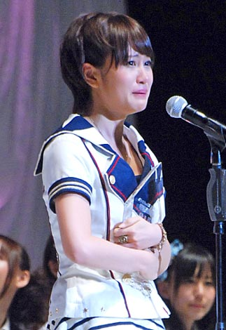 『第3回AKB48選抜総選挙』開票! 首位に返り咲いた前田敦子 (C)ORICON DD inc.