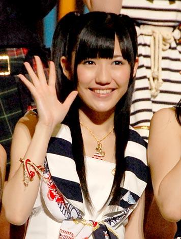 『第3回AKB48選抜総選挙』5位の渡辺麻友 (C)ORICON DD inc.