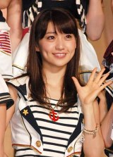 『第3回AKB48選抜総選挙』2位の大島優子 (C)ORICON DD inc.