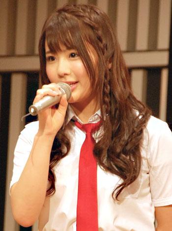 『第3回AKB48選抜総選挙』3年連続26位の渡り廊下走り隊・平嶋夏海 (C)ORICON DD inc.