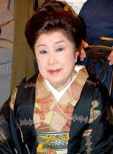 明治座7・8月『コロッケ特別公演』制作発表会見で舞台引退を宣言した赤木春恵
