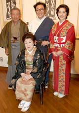 (後列左から)左とん平、コロッケ、熊谷真実 (C)ORICON DD inc.