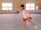 """映画『指輪をはめたい』で""""謎のスケート少女""""を演じる二階堂ふみ (C)2011 Kino Films. All Rights Reserved."""