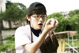 えっ!? 映画『デッドボール』で野球少年を演じる星野真里 (C)2011 SUSHI TYPHOON/ NIKKATSU
