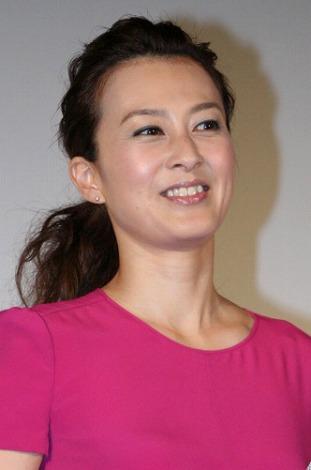 映画『はやく起きた朝は…オンステージ THE MOVIE』の舞台あいさつに登壇した森尾由美(C)ORICON DD inc.