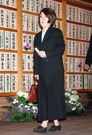 美空ひばりさんの『23回忌法要』に参列した岸本加世子 (C)ORICON DD inc.