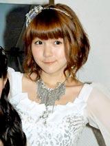 音楽放送スターデジオの公開録音イベントを行ったモーニング娘。の光井愛佳