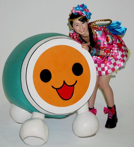 小池里奈が『太鼓の達人』10周年応援キャラクターに決定(C)ORICON DD inc.