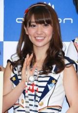 「オリコン2011年上半期ランキング」表彰式に出席した、AKB48の大島優子 (C)ORICON DD inc.