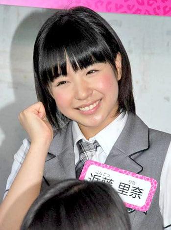 NMB48の東京での初冠番組『なにわなでしこ』の会見に出席した近藤里奈 (C)ORICON DD inc.