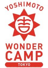 山手線各29駅エリアをジャックするお笑いイベント『YOSHIMOTO WONDER CAMP TOKYO 〜Laugh & Peace 2011〜』のロゴ