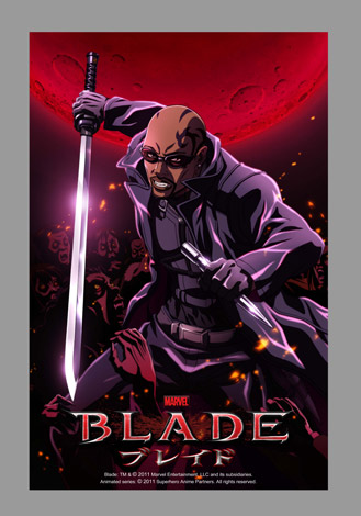 アニメ『ブレイド』 Blade: TM & (C) 2011 Marvel Entertainment, LLC and its subsidiaries.Animated series: (C) 2011 Superhero Anime Partners. All rights reserved.