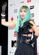 『MTV VIDEO MUSIC AID JAPAN』の緊急会見に出席したレディー・ガガ
