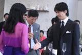 映画『セカンドバージン』の収録を行った鈴木京香(写真左)と長谷川博己 (C)ORICON DD inc.